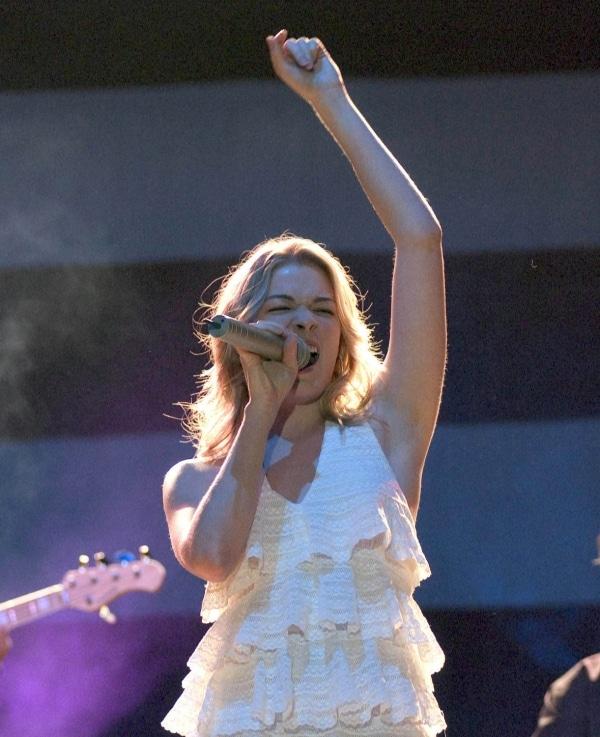 US-Sängerin LeAnn Rimes, dts Nachrichtenagentur