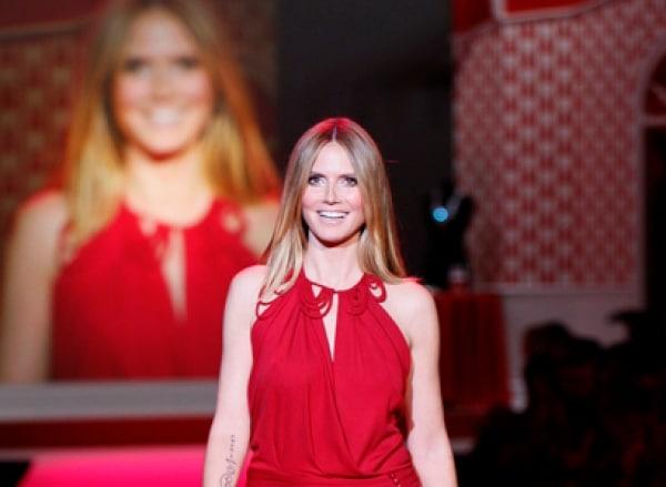 Model Heidi Klum, dts Nachrichtenagentur