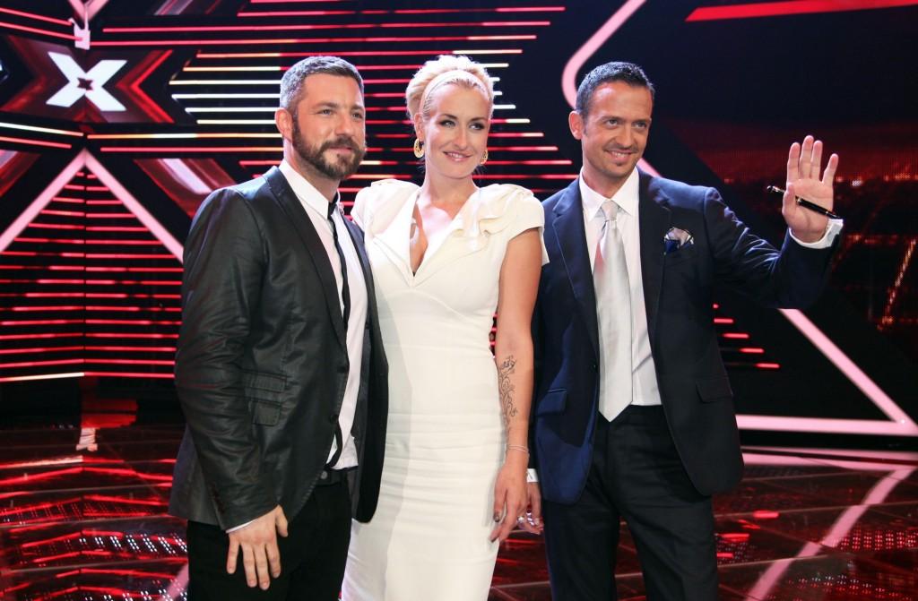 Die Jury (v.l.): DAS BO, Sarah Connor und Till Brönner.