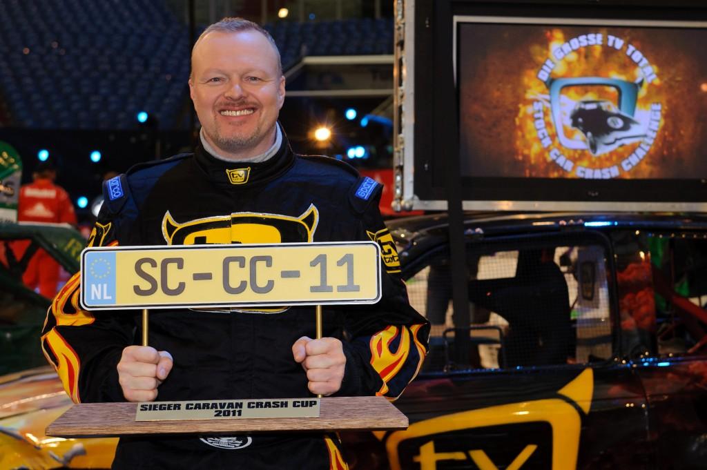 Stefan Raab präsentiert Stock Car Crash Challenge 2011