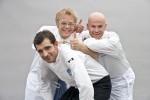 Martin Baudrexel, Mario Kotaska und Ralf Zacherl