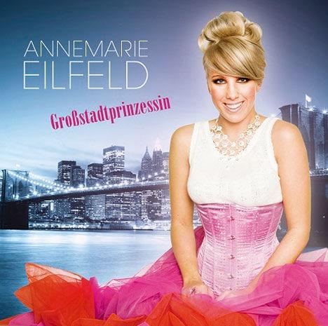 Annemarie Eilfeld auf einem Cover