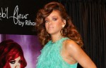"Rihanna Launches Her ""Reb'l Fleur"" Fragrance at House of Fraser in London on August 19, 2011"