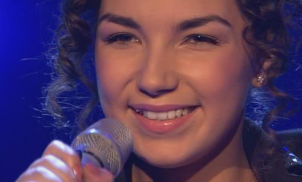 Monique Simon in der vierten Live Show bei X Factor