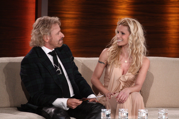 Thomas Gottschalk and Michelle Hunziker