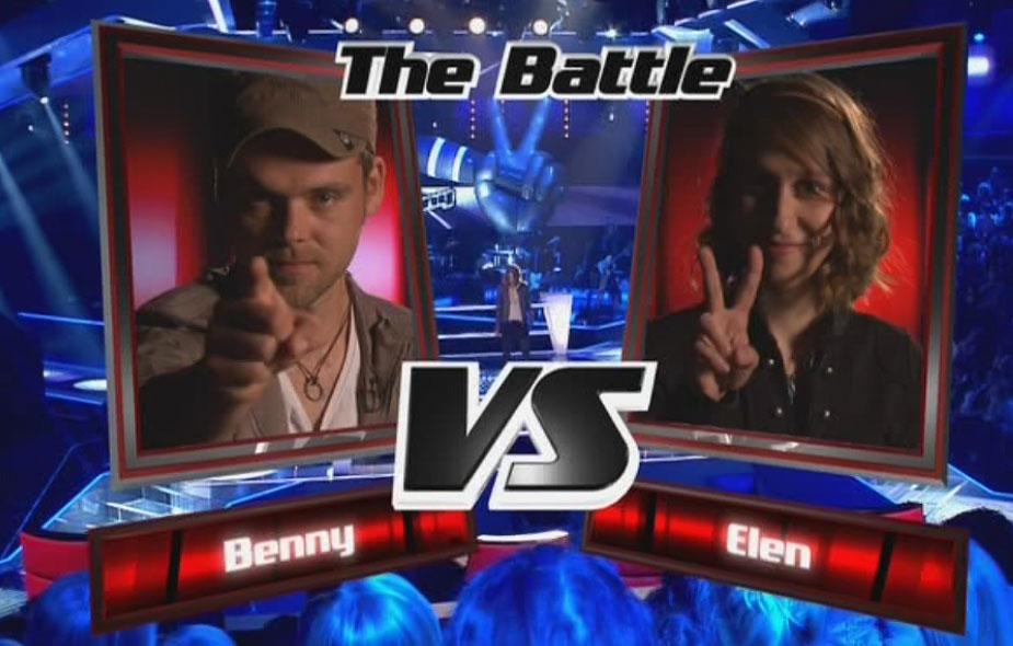 Benny und Elen im Battle