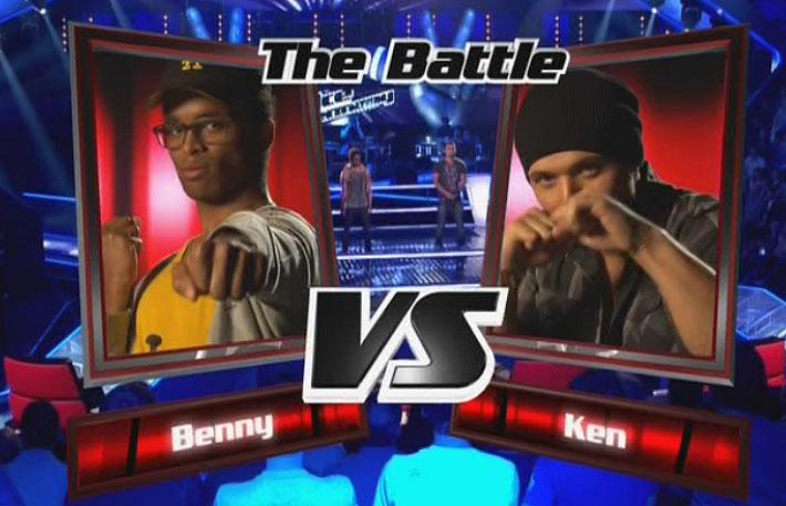 Benny und Ken beim Battel