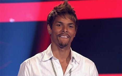 C.-Jay auf der Bühne
