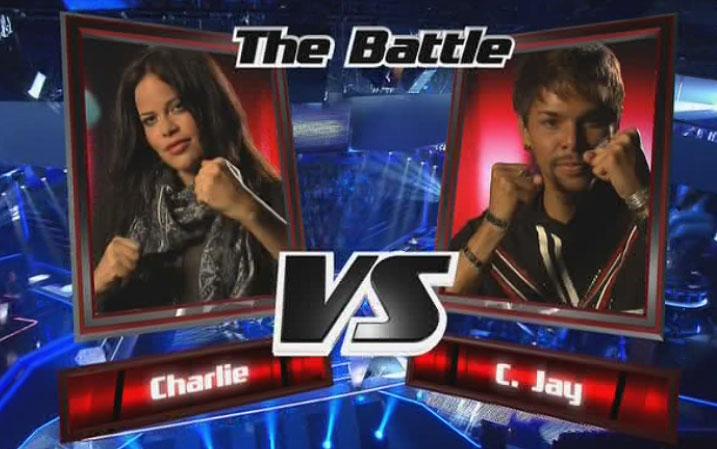 Charlie-u.-C.-Jay gegen einander