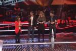 Jasmin mit drei auf der Bühne