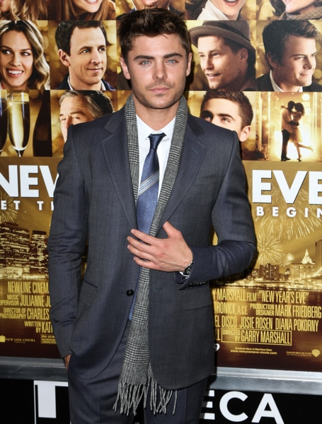 "Zac Efron - Tribeca Film Institute Hosts a Benefit Screening of ""New Year's Eve"""