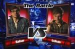 Sahar und Lukas im Battle