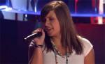 Tiziana Belomonte beim Singen