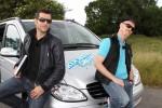 Martin Baudrexel (l.) und Ralf Zacherl