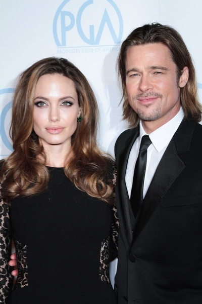 Angelina Jolie and Brad Pitt - 23rd Annual Producers Guild Awards - Arrivals