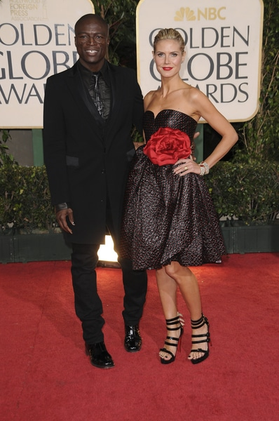 Seal and Heidi Klum - 66th Annual Golden Globes - Arrivals - Beverly Hilton Hotel