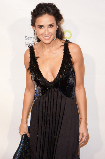 Demi Moore - Samsung Hope For Children 2011 - Arrivals - Cipriani Wall Street