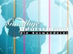 Goodbye Deutschland das Logo
