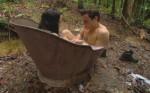 Kim und Rocco in der Badewanne