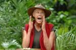 Brigitte Nielsen bei ihrer finalen Dschungelprüfung