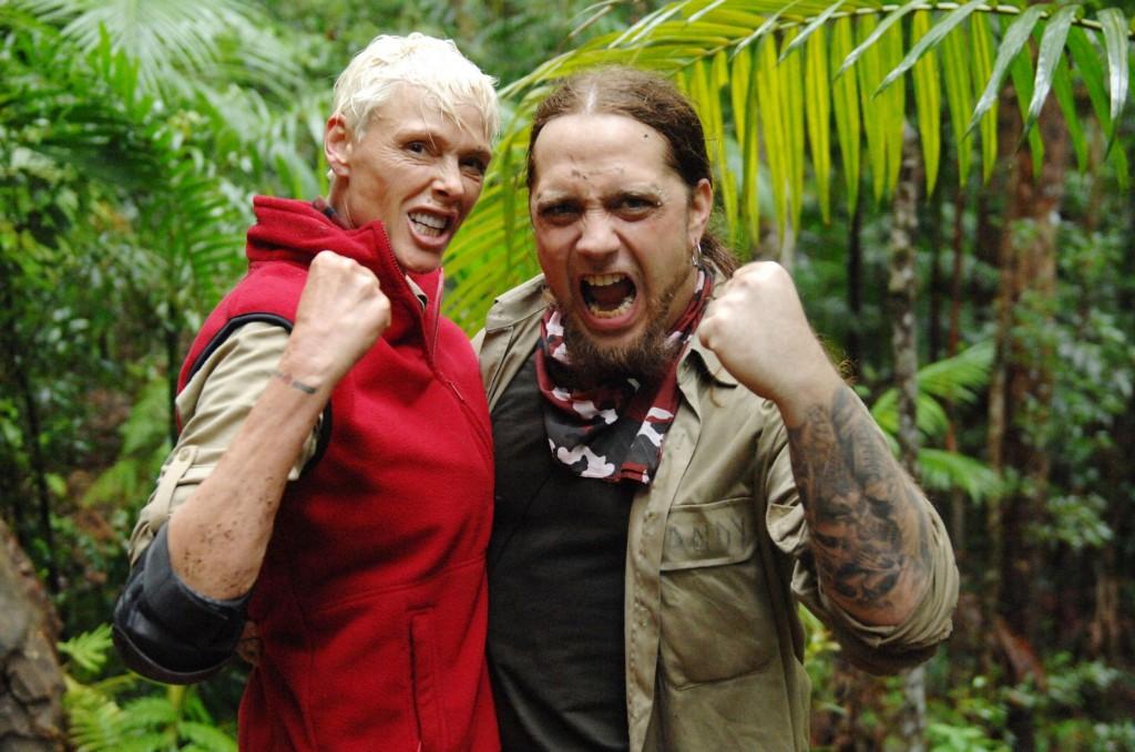Dschungelcamp 2012 Martin Kesici Und Brigitte Nielsen In