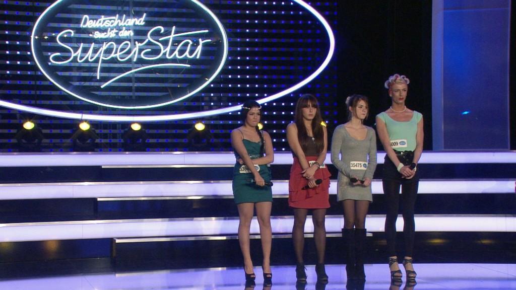 V.li.: Katharina Demirkan, Dardana Sokoli, Theresa Kohl und Betty Bambi