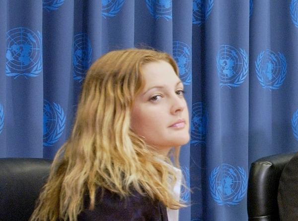 Drew Barrymore, UN Photo/Evan Schneider,  Text: dts Nachrichtenagentur