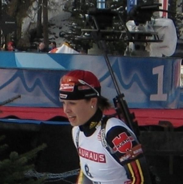 Magdalena Neuner, Frank Hamm, Lizenz: dts-news.de/cc-by