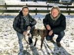 """Der Hundebesitzer Adriano Boßelmann (l.) kämpft um seinen """"Rolex"""""""