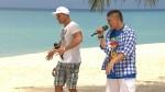 Dennis Richter und Robin Lau beim Singen