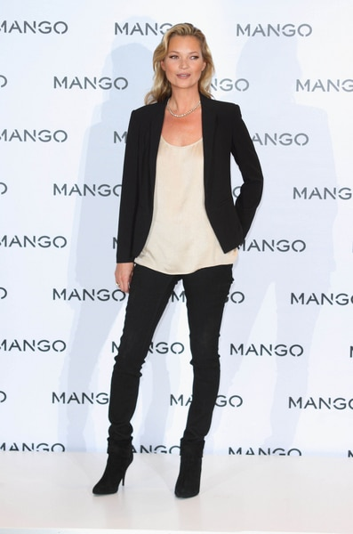 Kate Moss is Announced as the New Face of Mango Fashion