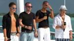 Robin Lau, Jesse Ritch, Thomas Pegram und Luca Hänni im Recall bei DSDS 2012