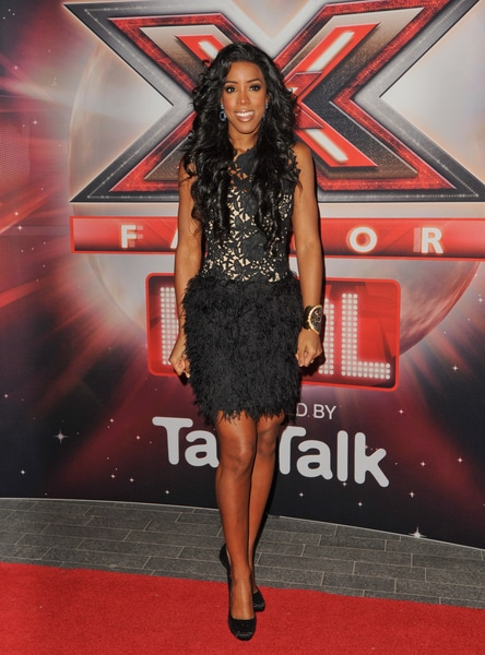 """Kelly Rowland - """"The X Factor""""  UK Final Photocall at Wembley Arena in London on December 10, 2011"""