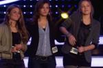 Vanessa Krasniqi, Sophia Bauckloh und Silvia Amam auf der Bühne