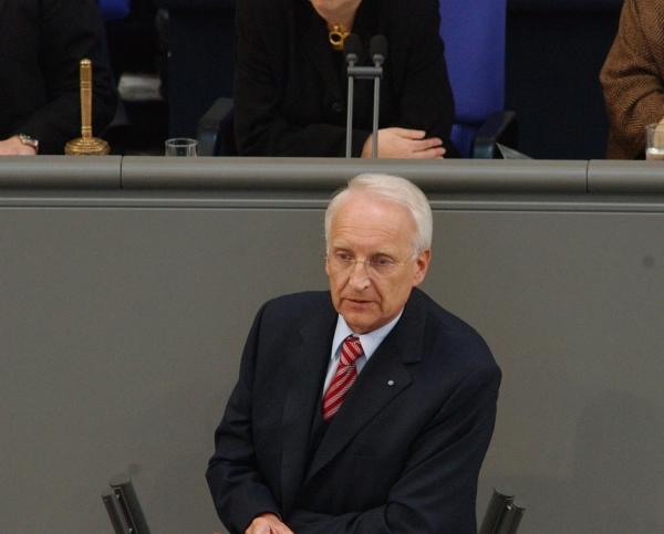 Edmund Stoiber, Deutscher Bundestag  / Meldepress,  Text: dts Nachrichtenagentur