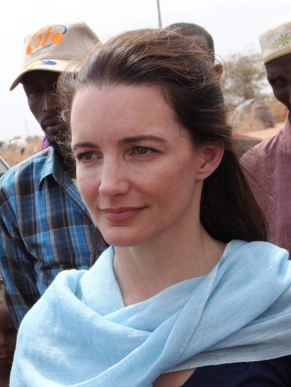 Kristin Davis, Oxfam East Africa, Lizenz: dts-news.de/cc-by