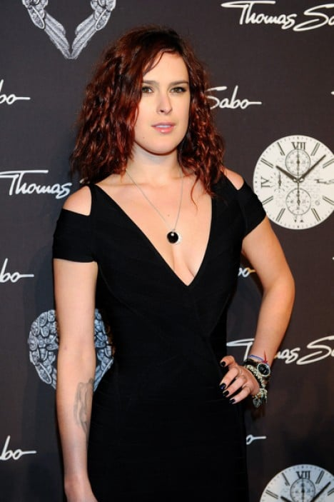 Rumer Willis - Thomas Sabo Party Night at Postpalast in Munich on February 11, 2012