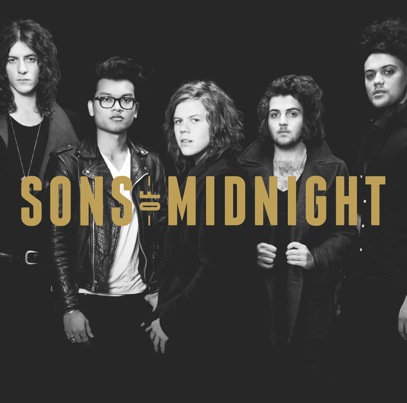 Album Cover Sons of Midnight