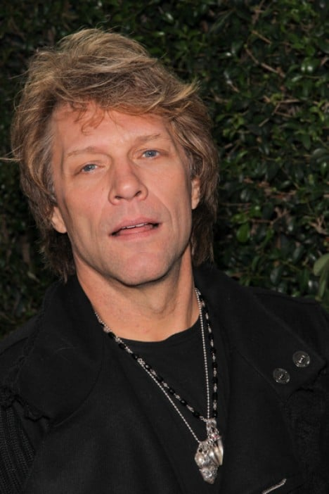 Jon Bon Jovi - 2010 American Music Awards Rolling Stone Magazine VIP After Party