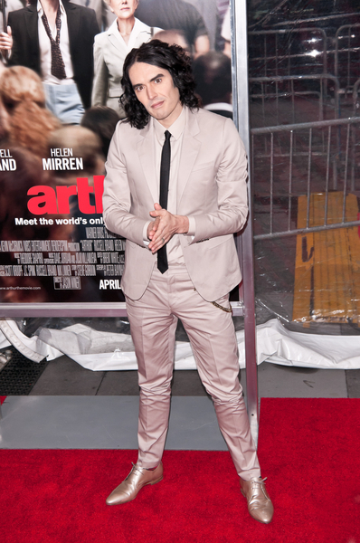 "Russell Brand - ""Arthur"" New York City Premiere - Arrivals - The Ziegfeld Theater"
