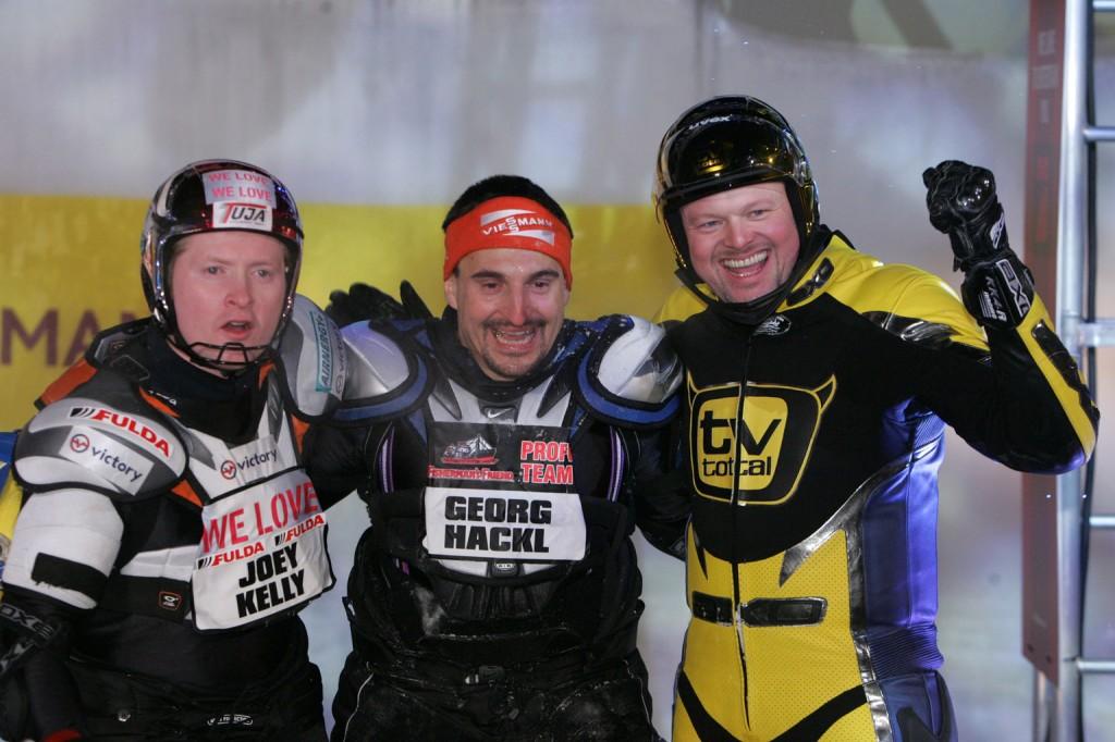 Stefan Raab, Joey Kelly, George Hackl