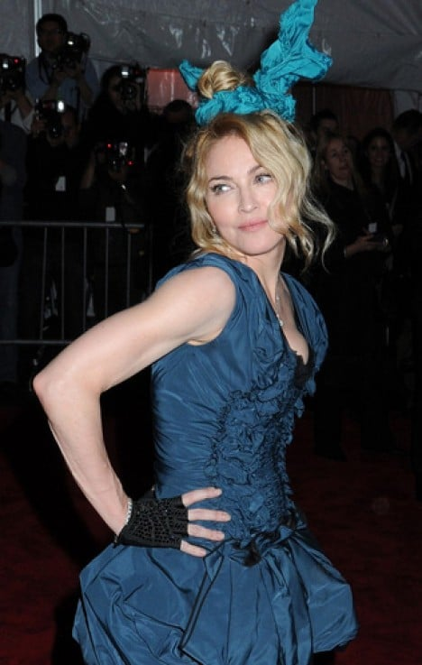"""Madonna - """"The Model as Muse: Embodying Fashion"""" Costume Institute Gala at The Metropolitan Museum of Art"""