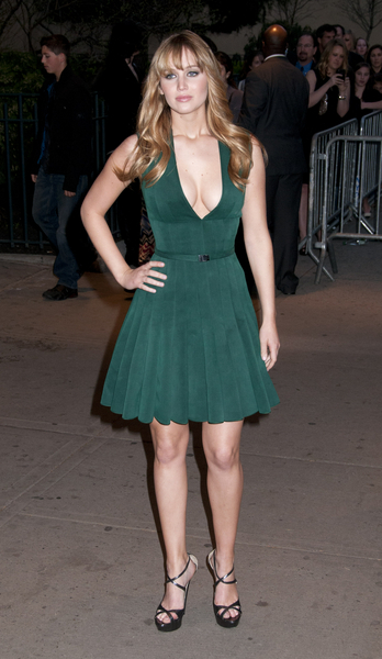 "Jennifer Lawrence - ""The Hunger Games"" New York City Premiere - Arrivals"