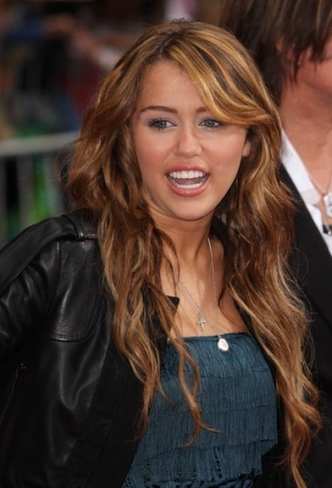 "Miley Cyrus - ""Hanna Montana The Movie"" World Premiere - Arrivals"