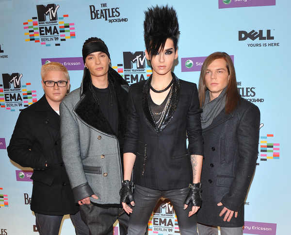 Tokio Hotel - MTV European Music Awards 2009 - Arrivals - O2 World
