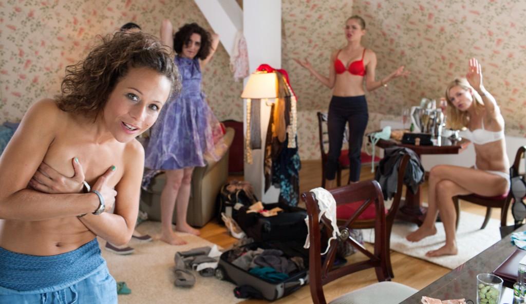 Szene aus Das Hochzeitsvideo