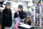 Natascha Ochsenknecht mit Sohn und Shopping-Hilfe Jimi Blue