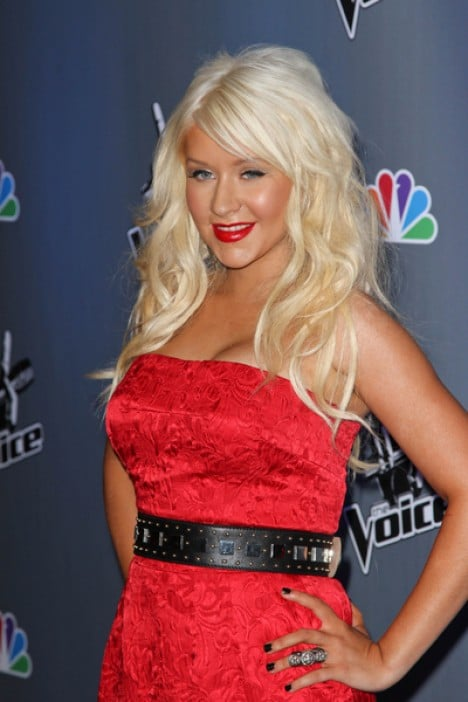 "Christina Aguilera - NBC's ""The Voice"" Press Conference"