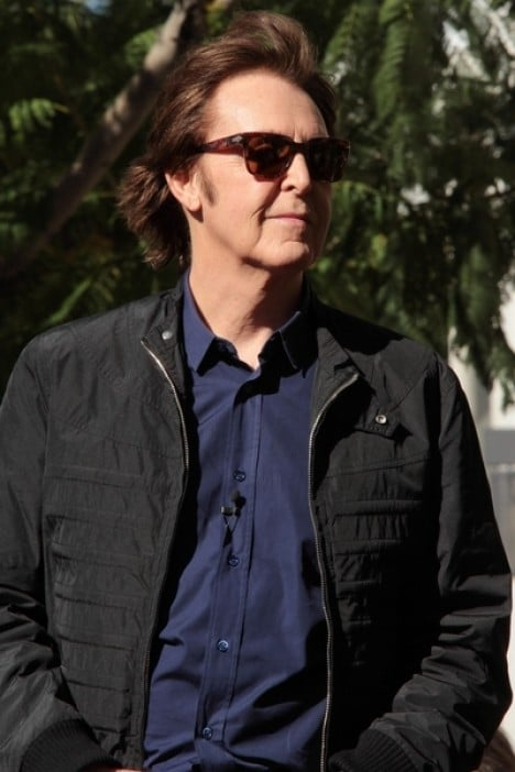 Paul McCartney Honored with a Star on the Hollywood Walk of Fame on February 9, 2012