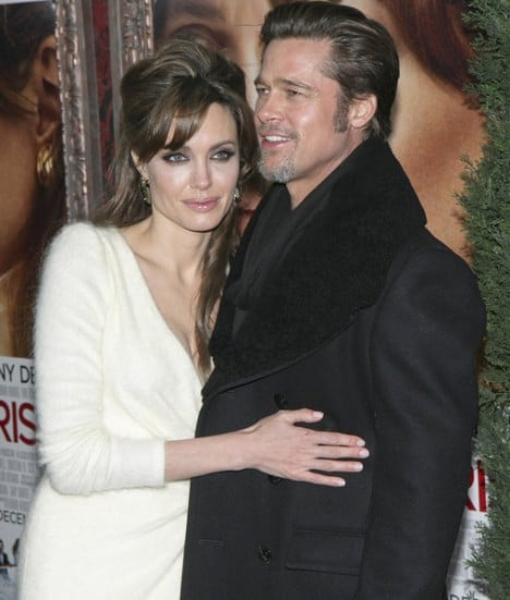 "Angelina Jolie and Brad Pitt - ""The Tourist"" World Premiere - Outside Arrivals"